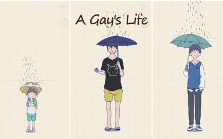 """Indie interactive web game """"A Gay's Life"""" lets players experience what it is like to be gay in China. Photo: Handout."""