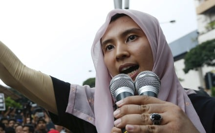Nurul Izzah Anwar, Anwar Ibrahim's daughter. Photo: AP