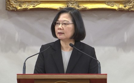Taiwanese President Tsai Ing-wen. Photo: AP