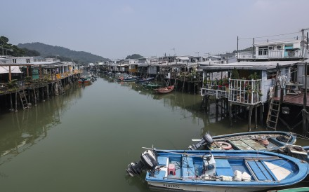 Stilt houses are still seen in Hong Kong's Tai O village. Hong Kong used to have picturesque but smelly fishing villages in typhoon shelters. Could they offer lessons on how to build a modern floating city? Photo: Edward Wong