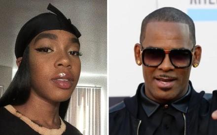 Buku Abi, 20, and her father, singer R. Kelly. Photo: Instagram / Buku Abi / Reuters