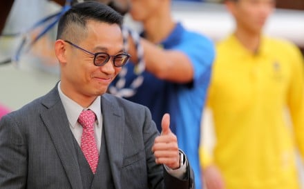 Jimmy Ting is enjoying a fruitful first season as a trainer. Photos: Kenneth Chan