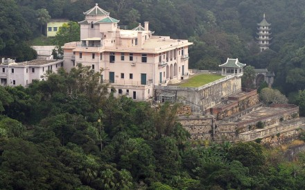 """Ho Tung Gardens, a grade one historic mansion with """"outstanding merit"""", could not be saved due to objections from the owner. Photo: AFP"""