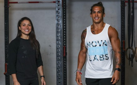 Victoria Campos and Ant Haynes are preparing for the CrossFit Open and the Asian CrossFit Championship in Shanghai in April. Photo: Xiaomei Chen