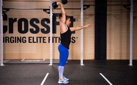 CrossFit's third workout (19.3) has been unveiled live in Spain. Photo: CrossFit