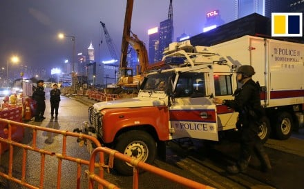 A third wartime bomb was discovered at a construction site in Hong Kong's Wan Chai district on May 10.