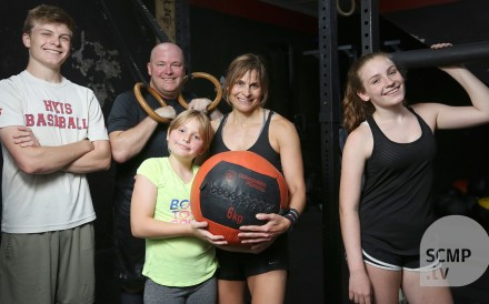Tobey and Tom Hill say CrossFit has forged a stronger family bond.