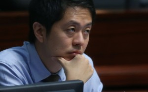 Hui, of the Democratic Party, was arrested in early May over the phone-