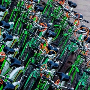 Bike-sharing services