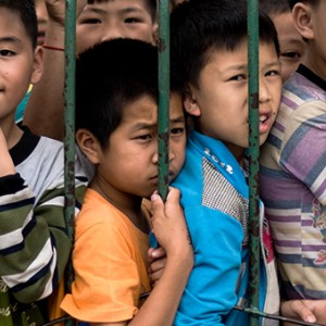 Left-behind children in China