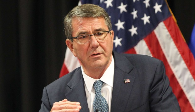 US Defence Secretary Ashton Carter warns China against building 'Great Wall of self-isolation'