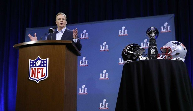 Roger Goodell says NFL 'moving on' from Deflategate drama ahead of Super Bowl 51