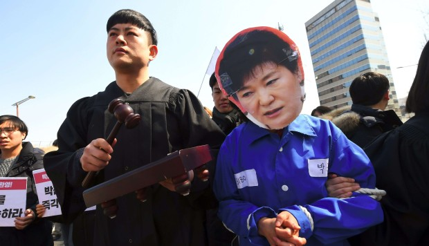 bf73720363d The corridors of power have been home to South Korea s Park Geun-hye as a  child