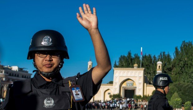 Xinjiang's police hiring binge comes from party boss's Tibet playbook