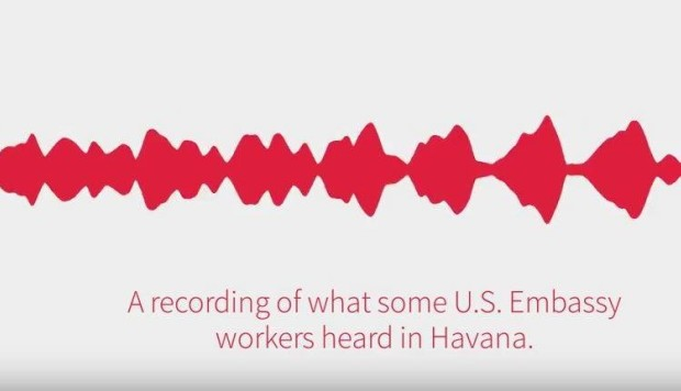 Listen, if you dare: here is a recording of the mysterious 'sonic attack' on US diplomats in Cuba
