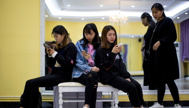 Major shake-up seen as Chinese smartphone market contracts for the first  time ever   South China Morning Post 79e1740fc6b
