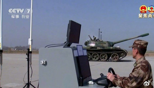 China tests driverless tanks that could be powered by AI