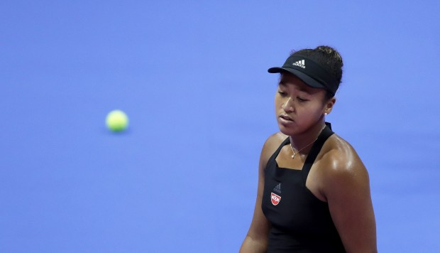Naomi Osaka's winning streak comes to an end in Pan Pacific Open loss