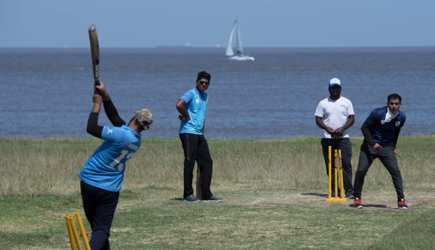Indians and Pakistanis bond over cricket in Uruguay, but rue lack of permanent ground