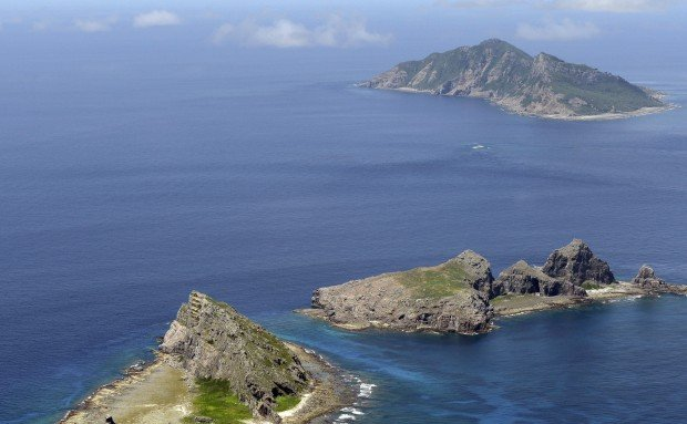 File photo of the Diaoyu Islands, which Japan controls but Beijing claims. Photo: Kyodo