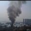 Smoke emitting from the blaze at Tuen Mun on Saturday. Photo: Dennis Cheng