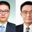 Wu Lei and Wu Bangguo seen in official photos. Screenshots from weibo.
