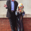Michael Palin poses with The Scream