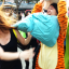 Hong Kong's annual Pillow Fight Day attracted hundreds on Saturday. Photo: SCMP