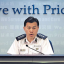 Chief Superintendent Steve Hui Chun-tak said there had been other cases of people uploading the personal information of police officers and families to the internet, where they were made targets of personal attack on social media.