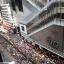 Protesters snake through Causeway Bay. Photo: Sam Tsang