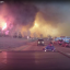 Dash cam footage of the Fort McMurray wildfire which started in May. Photo: Michel Chamberland