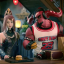 Honor of Kings characters Luban 7, Mulan, and Bull Devil as seen in a McDonald's commercial. (Picture: McDonald's)