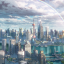 This is undoubtedly the prettiest Shanghai ever drawn in an anime. (Picture: Netflix)