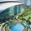 An artist's impression of the project's central park and MITEC. Photo: Naza TTDI