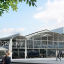 A computerized rendering of what the Station F campus will look like when it opens to the public in April 2017. Photo: Station F