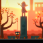 The run-down town slightly changes as your choices change in Night in the Woods.