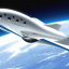 An illustration of a reusable sub-orbital spaceplane being developed by Japan's PD Aerospace. Photo: PD Aerospace