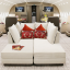 The 220-square-metre modified interior of Deer Jet
