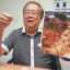 Chong holding up the fish hook he found in the fish head curry from a restaurant in Petaling Jaya. Photo: The Star