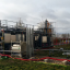 The industrial demonstration plant BioGNVal, converting part of Paris' waste water into biofuel. Photo: Cyro Pur