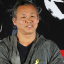 """Movie director Kim Ki-duk poses during the premiere of """"One on One"""". Photo: Yonhap"""