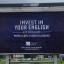 A new billboard poster for the American Institute in Zagreb, Croatia. Photo: Americki Institut, Zagreb