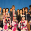 Minister of Gender Equality and Family Chung Hyun-back, poses with multiracial youths at an event. Photo: Courtesy of Ministry of Gender Equality and Family