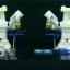 Epson's autonomous dual-arm robots. Photo: Epson Corporate/YouTube