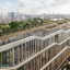 "A rendering of Google's new London headquarters, dubbed a ""landscraper."" Photo: Hayes Davidson"