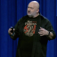 Amazon chief technology officer Werner Vogels speaks at the 2017 Amazon Web Services re:Invent conference in Las Vegas. Photo: CNBC