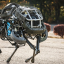 The WildCat robot, manufactured by U.S. robotics company Boston Dynamics, is the world's fastest free-running robot with four legs, capable of running at 32 kilometres per hour. Photo: Boston Dynamics
