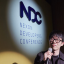 Kang Dae-hyun, vice president of Nexon Korea, delivers a keynote speech during the Nexon Developers Conference held at the company building in Pangyo, Gyeonggi Province. Photo: Nexon Korea