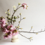 An Ikebana-inspired floral arrangement by florist Taylor Patterson.