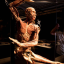 A dancing cadaver in a previous Body Worlds exhibition. Photo: Supplied